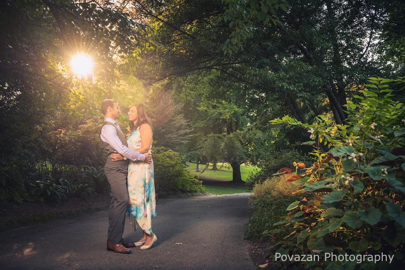 Van Dusen Gardens Engagement