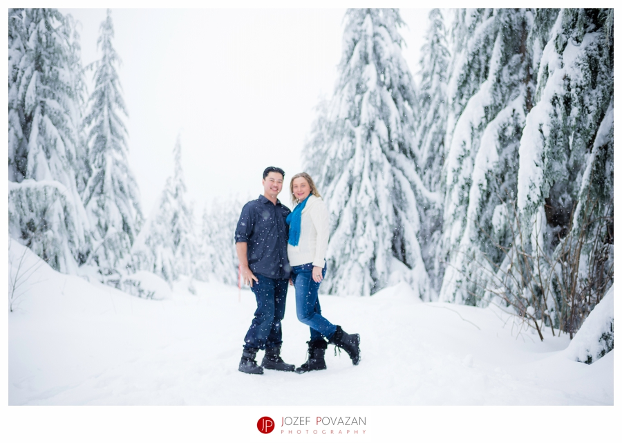 Cypress Mountain Snow Fun Portraits