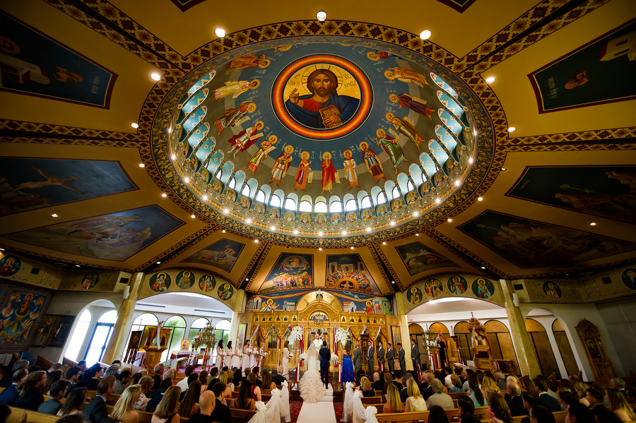 St. George Greek Orthodox Cathedral wedding